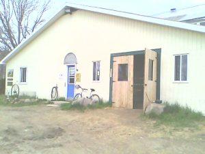 A nice new door on the barn
